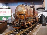 LGB 4040E - Kesselwagen/Tankwagen Spur G - Güterwagen gealtert im Maßstab 1:22,5