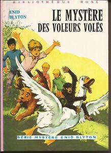 LE MYSTERE DES VOLEURS VOLES/Enid BLYTON-1977