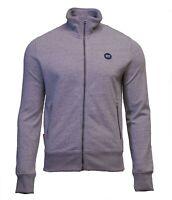 Superdry Mens New Collective Full Zip Track Top Sweatshirt Long Sleeve Grey