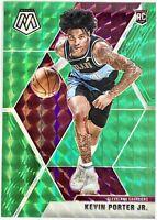 2019-20 Panini Prizm Mosaic Kevin Porter Jr. Silver Green Rookie Card Houston🚀
