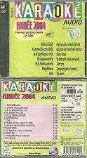 KARAOKE : SUPER KARAOKE ANNEE 2004 ( 2 CD - NEUF EMBALLE )