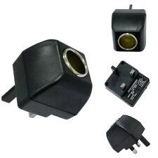 Cigarette Lighter Socket 240V Mains Plug to 12V DC Car Charger Power Adapter