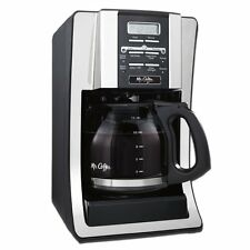 Mr. Coffee 12 Cup Programmable Automatic Drip Coffee Pot Maker Brewer