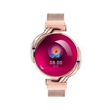 Fashion Women Smart Watch Waterproof Heart Rate Blood Pressure Monitor