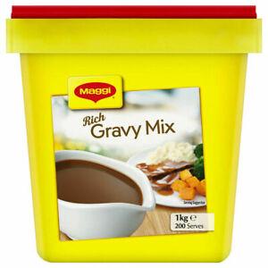 Maggi Classic Rich Gravy Mix 1kg Bulk Deal - Same Day Dispatch From Sydney -