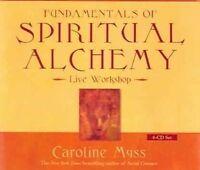 Fundamentals of Spiritual Alchemy by Caroline Myss. 4 x CD Audiobook