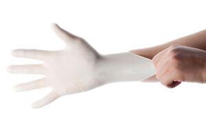 Latex Exam Gloves 100/box Powder Free ***Brand New SEALED***[ALL SIZES HERE] USA