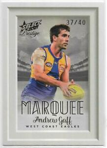 2021 Footy Stars Prestige Marquee (MP17) Andrew GAFF West Coast 17/40