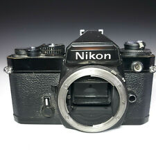 Nikon FE Black 35mm SLR Film Camera Body Very Nice Condition