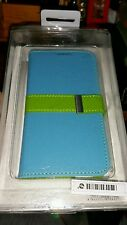 MOMAX BRAND Samsung Galaxy S4 Blue Phone Case Flip Diary - FREE POST