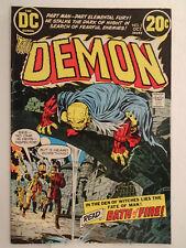 Dc Comics The Demon #2 (1972) Jack Kirby Story, Cover, & Art