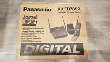 Panasonic KX-TD7890 LONGEST RANGE Digital Spread Spectrum 900 MHz Cordless Phone