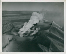 New Zealand, Ruapehu Mount (Ohacka)  Vintage silver print. Legend on the backsid
