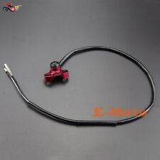 Red CNC Billet Engine Kill Start Stop Switch Buttom Honda XR250R CRF250X CRF450X