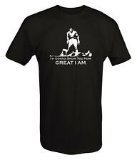 T Shirt -Muhammad Ali I'm Gonna Show You Boxing Quote