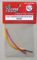 ACCEL PREWIRED DISTRIBUTOR BOOT 1:24 1:25 GOFER RACING CAR MODEL ACCESSORY 16011