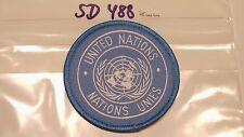UN  FN  UNO Armabzeichen blau 75mm 2 Stück  (sd488)