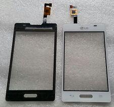 Touch Touchscreen Displayglas Glas Digitizer Flex Weiß für LG Optimus L4 II E440