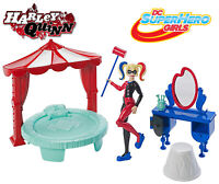 Harley Quinn Bedroom Play Set - DC Super Hero Girls Edition 6+