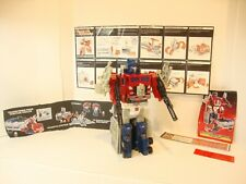 Vintage 1987 Hasbro Transformer Optimus Prime, Autobot Leader Complete Lot 15/18
