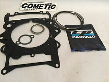 Raptor Rhino Grizzly 700 108mm CP Piston Rings Only Cometic Top End Gasket