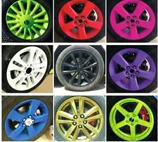 SALE- EASY SKIN SPRAY ON & PEEL OFF PAINT FOR WORKS SSR RAYS WHEELS  1X PINK
