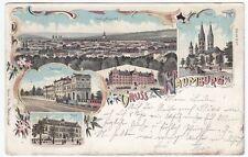 Normalformat Post Ansichtskarten aus Sachsen-Anhalt