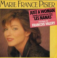 MARIE FRANCE PISIER JUST A WOMAN / INSTRUMENTAL FRENCH 45 SINGLE OST