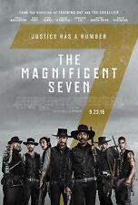 """MAGNIFICENT SEVEN """"B"""" 11x17 PROMO MOVIE POSTER"""