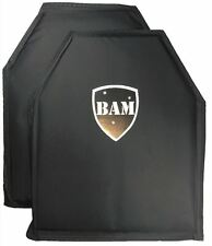 Body Armor | Bullet Proof Insert | Level IIIA - 3A | 10x12- Pair | Mfg AUG 2018