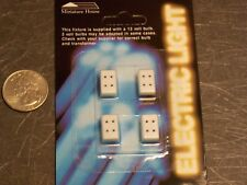 Dollhouse Miniature Electric Petite Wall Outlets 1:12 scale D48 Dollys Gallery