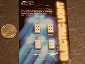 Dollhouse Miniature Electric Petite Wall Outlets 1:24 scale D48 Dollys Gallery