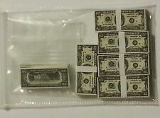 1/6 scale stacks & loose money. Lot of 90 $20 bills! GI Joe 12 inch figures!