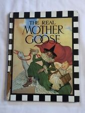 """Vintage """"The Real Mother Goose"""" children's book (hardcover 1974)"""