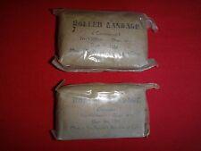 2 Vietnam War VC NVA Compressed ROLLER BANDAGES *Unopened, Unused*