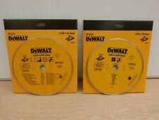 DEWALT DT3733 & DT3734 254MM X 25.4MM DIAMOND TILE CUTTING DISCS D24000 TILESAW