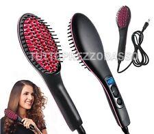 spazzola ioni elettrica piastra ionica liscia snoda capelli acconciature 80 230°