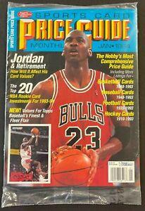1994 JANUARY MICHAEL JORDAN SPORTS CARD SEALED MAGAZINE PRICE GUIDE (AM)
