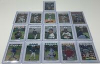 Lot of 16 Topps Chrome 2008 RC Refractor #'d /599 (19-648)
