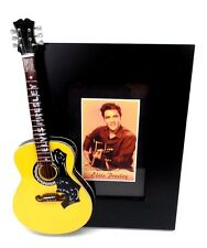Elvis Presley Miniature Guitar Picture Frame Elvis The King of Rock & Roll