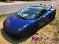 Squadra Corse front bumper complete for Lamborghini Gallardo 2004-2008