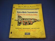 1958 United Motors Service GMC Hydra-Matic Transmission Parts Catalog #37-A-100