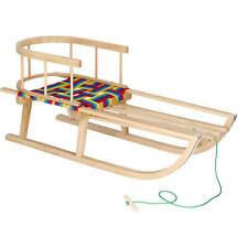Madera trineo reservar madera respaldo podadoras niños Rodel niños trineo