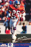 POSTER: NFL FOOTBALL:  BOBBY HUMPHREY - DENVER BRONCOS - FREE SHIP #7216   RW1 Q