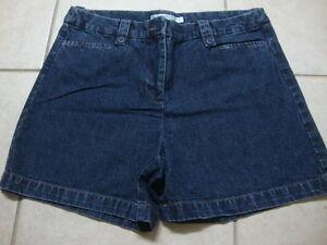 Womens GEOFFREY BEENE SPORT jean shorts, 8
