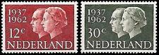 Nederland/Netherlands 764-765 zilveren huwelijk 1962 mooi gestempeld