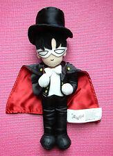 "Sailor Moon Black Tuxedo & Mask Plush 11"" Doll 2000 - Irwin Toy Limited Anime"