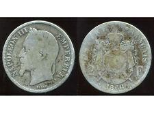 2 francs 1866 A    NAPOLEON III   argent  silver