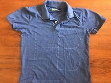 Hugo Boss Green Label Men's XXL Modern Fit Cotton Blue Graphic POLO golf Shirt