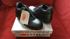 size 5 VIXENS LADIES EMERALD SAFETY BOOTS SHOES